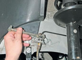 Шланг тормозной передний лада ларгус
