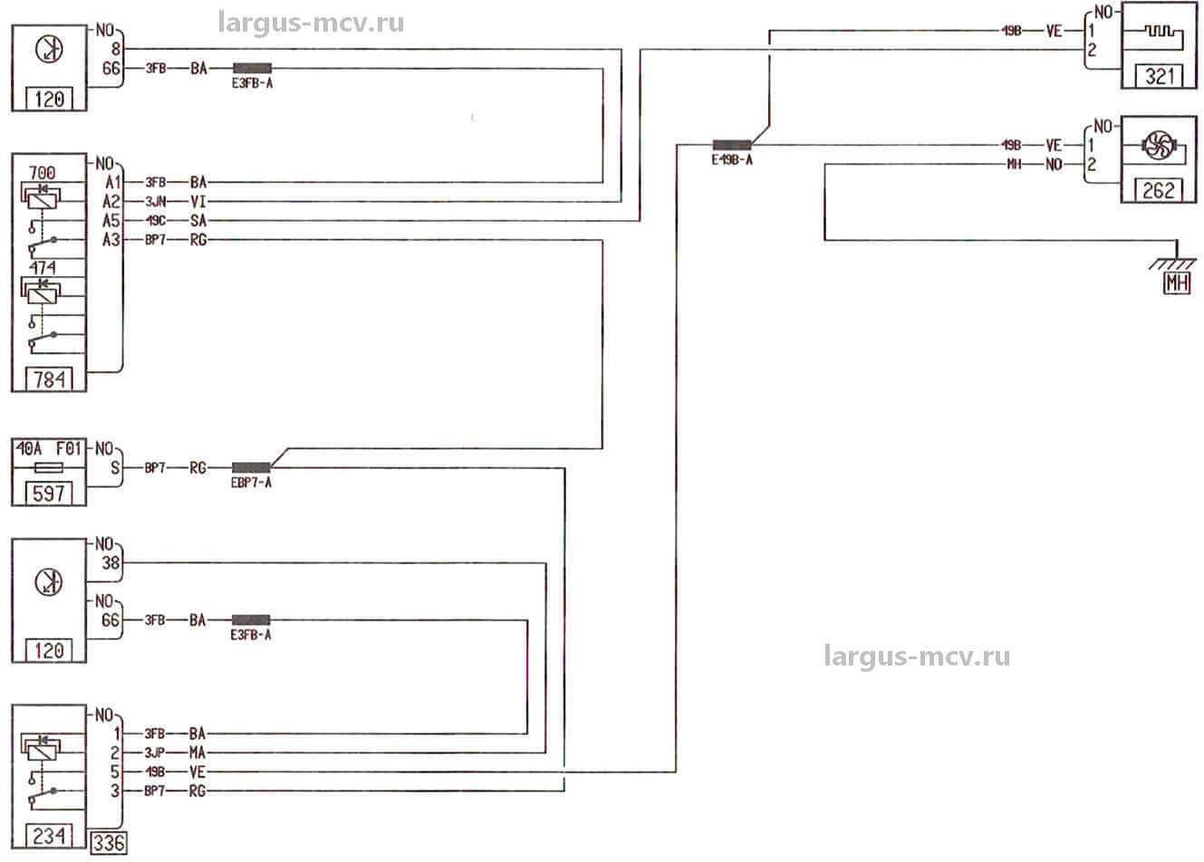 схема системы охлаждения автомобиля ваз 21010