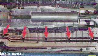 Замена тормозных трубок Lada Largus / Лада Ларгус