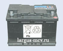 Аккумулятор на ларгус характеристики